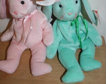 Hippity and Hoppity Ty Beanie Baby 1996