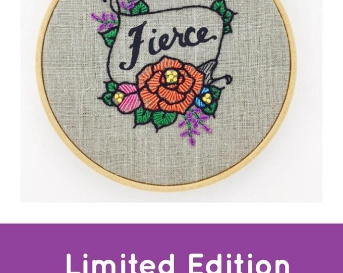Fierce Embroidery Kit