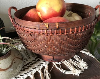 Vintage Wicker bowl