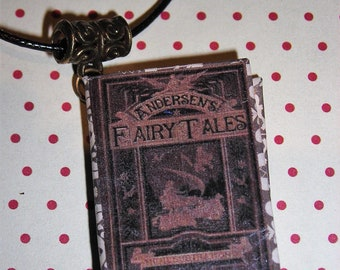 Book necklace Andersen's fairy tales (Book necklace)