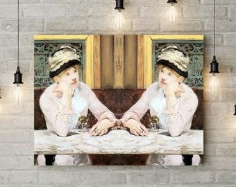 Edouard Manet Art print. Manet Print. Manet Wall Decor. Manet Poster. Manet Reproduction. Manet Wall Art. Manet Painting. Reproduction.