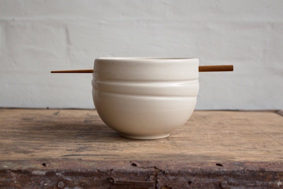 Rice Bowl in White