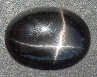 12x10 oval black star diopside cabochon gem gemstone