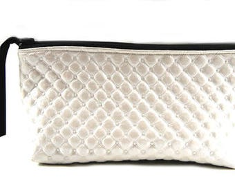 Pearly Bazaar baroque quilted Pocket