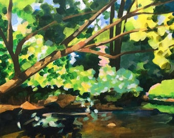Pennypack Summer Afternoon at Noon