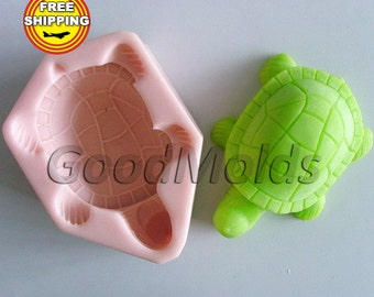 Tortoise mold soap mold silicone molds mold for soap mold  silicone mold animals mold free shipping