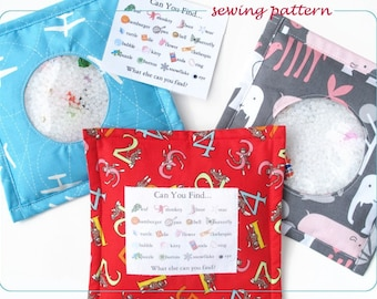 Sewing Pattern, I Spy Toy, IMMEDIATE DOWNLOAD