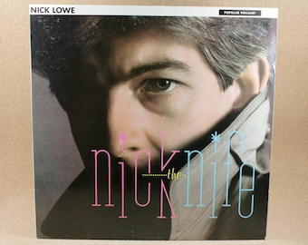 Nick Lowe - Nick The Knife Vinyl Album - Columbia Records - New Wave - Near Mint Condition
