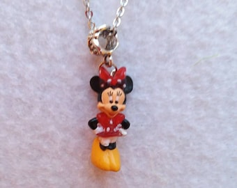 Minnie Mouse Necklace