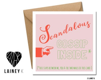 Scandalous Gossip Inside