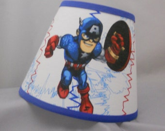 Captain America Lamp Shade