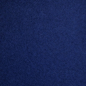 Navy  wool melton fabric  ,material ideal for coats and suits
