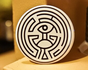 "HBO Westworld Maze 2.25"" Pinback Button or Magnet"