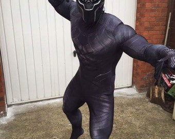 BLACK PANTHER ,sub suit and MASK