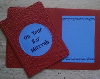Bar Mitzvah Circle Card
