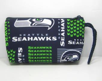 Seattle Seahawks Wallet Wristlet Pouch