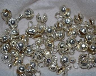 50 PC Vintage Silver Tone Indian Gypsy Bells(USA) (3024502)