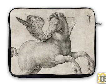 Winged Horse Equestrian, iPad Case, Laptop Bag, Laptop Sleeve, Laptop Case, iPad Sleeve, MacBook Case, Tablet Case - Pegasus
