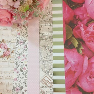 French Flowers | Dividers : Set of 6