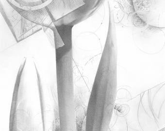 TULIPS NO. 2 Digital Fine Art Print