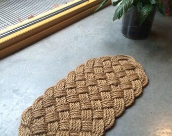 The Tug Boat    Woven door mat
