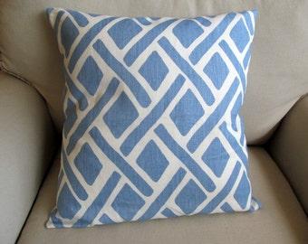 RIVER  Linen Decorative,Toss,Throw, Accent, Lumbar pillow cover 18x18, 20x20, 22x22, 24x24, 26x26, 10x20, 12x20, 13x26