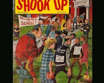 Shook Up Vol. 1 No. 1 - Vintage Magazine c. November 1958