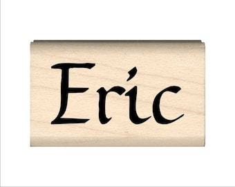 Eric - Name Rubber Stamp for Kids