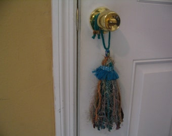 Shabby Chic Tassel Door Knob Hanging Tassel Home Decor Tassel Ornament  Accent Collection #12