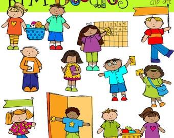 KPM Classroom helpers Digital Clip Art