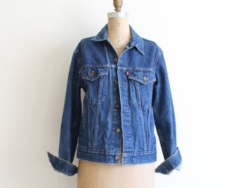 vintage Levis denim jacket - Levi Strauss denim jacket / 80s denim jacket - vintage jean jacket / 70s Levis jacket - vintage denim