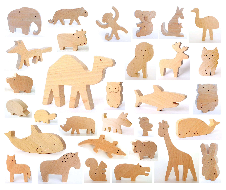 Wood Craft Farm Animals