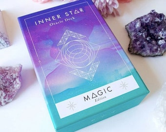Inner Star Oracle Deck - Magic Edition - 55 Oracle Cards + Guidebook - Spiritual Tool for Modern Mystics!