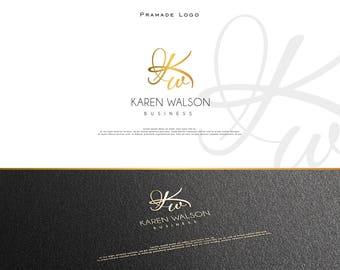 Unique Custom Monogram ,Premade Logo, Initials,Business Logo Gold Custom logo, Event Logo, Modern Logo,  Branding, Elegant Logo, Real Estate