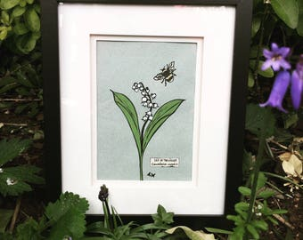 Lily of the Valley Giclee Print