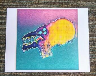 Pumpkinhead Monster Print