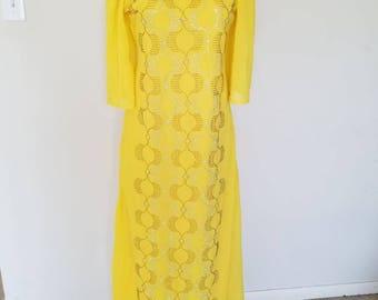 Chiffon Stoned Dress.