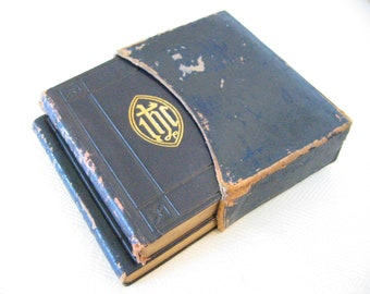 The Book of Common Prayer Hymnal Circa 1868 Leather Case