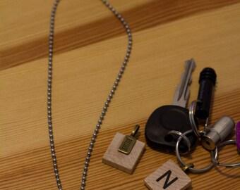 Scrabble Monogram/Initial Charm