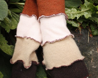 Up-Cycled Autumn Arm Warmers