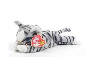 Ty Beanie Babies Prance the cat 1997 Generation 5 Version 5