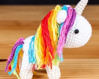 Crochet Unicorn Keyring