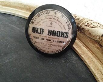 Vintage Knobs The Books Series OLD BOOKS Door Pull
