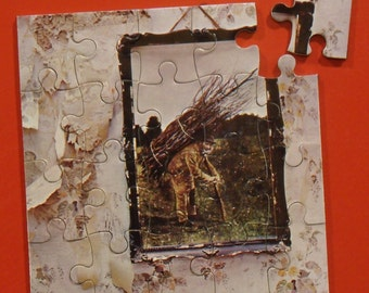 Led Zeppelin CD Cover Magnetic Puzzle