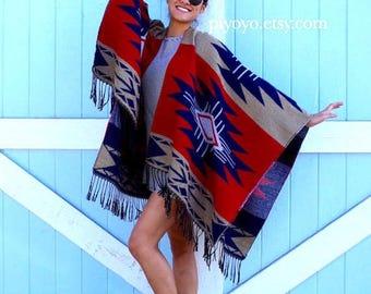 Most popular item items, plus size kimono, gift women Poncho, plus boho Kimono Cardigan, Womens Gift for women, southwestern aztec print,