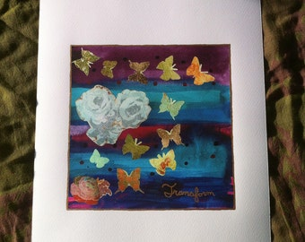 """8x10 """"Transform"""" Mixed Media Limited Edition Giclee Print"""