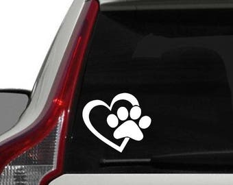 Love My Cat, Love My Dog Vinyl Decal