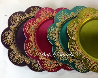 Mehndi Plates Images : Etsy :: your place to buy and sell all things handmade