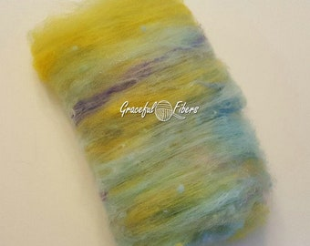 Kid Mohair Mixed Batt