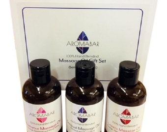 Sensual & Erotic Massage Oil Gift Set